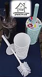 Ершик для унитаза с подставкой Elif Plastik E032, фото 2