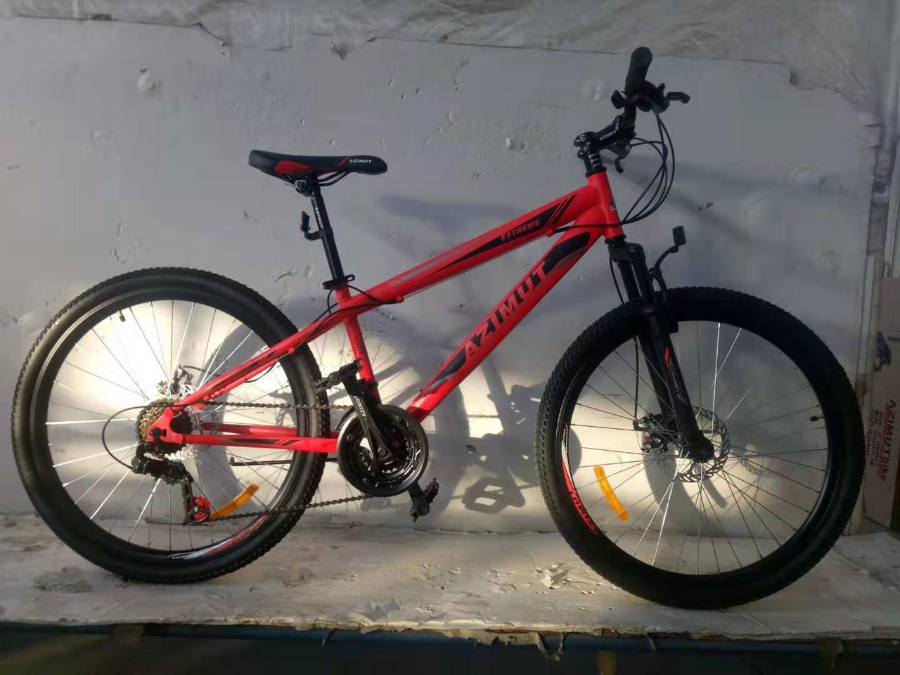 Горный подростковый велосипед Extreme 24 дюйма 13 рама  FRD Азимут