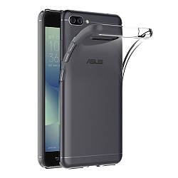 Прозрачный Чехол Asus Zenfone 4 Max ZC554KL (ультратонкий силиконовый) (Асус Зенфон 4 Макс Мах)
