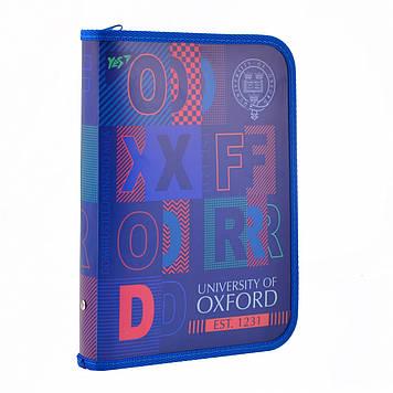 """Папка для зош. B5 """"Yes"""" №491576 """"Oxford"""" на блиск. пласт.(12)"""