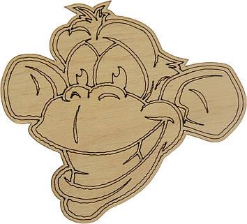 Мавпа 9х10см фанера(5)