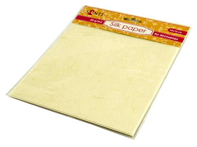 """Папір шовковий """"Santi"""" 50х70см №952739 крем."""
