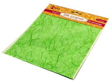 """Папір шовковий """"Santi"""" 50х70см №952733 зелен."""