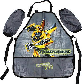 """Фартух для творч. та нарукавники """"Kite"""" №TF18-161 Transformers"""