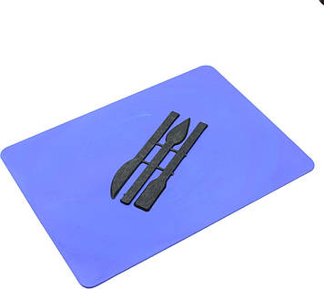 Дошка для ліплення вел. зі стеками 25х19см(150)(180)