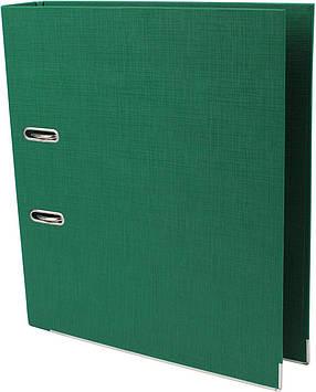 "Папка-реєстратор A4 ""Axent"" 5см №1721-04С-А Prestige+ двостор. (зелена)зібраний(1)(25)"