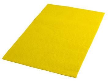 """Фетр м`який """"Santi"""" 21х30см жовтий №740442(10)"""