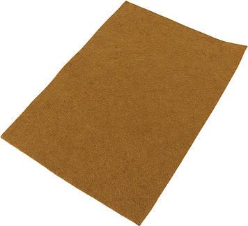 """Фетр м'який """"Santi"""" 21х30см коричневий №740458(10)"""