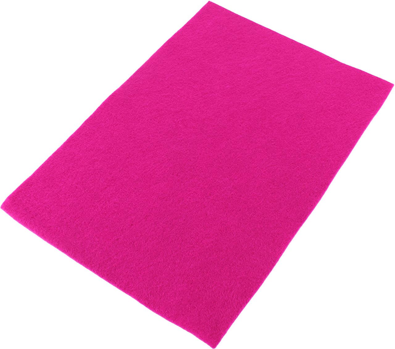 """Фетр м'яка який """"Santi"""" 21х30см рожевий №740432(10)"""