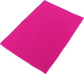 """Фетр м'який """"Santi"""" 21х30см рожевий №740432(10)"""
