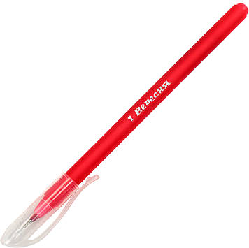 "Ручка кульк. ""1В"" №411079 Soft Touch 0,6мм синя(30)(600)(2400)"