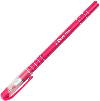 """Ручка кульк. """"1В"""" №411082 Delta 0,6 мм синя(30)(50)(600)(2400)"""