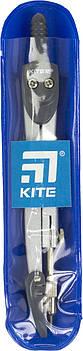 """Циркуль """"Kite"""" 125мм,сірий, в чохлі PVC №K18-382-03/0001(10)(50)"""