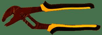 Кліщі переставні для труб 250мм жовто-чорні (4102851)