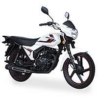 Дорожній мотоцикл Lifan BTR 200 Білий перламутр Orchid white Pearl
