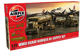 WWII USAAF 8th Bomber Resupply Set. 1/72 AIRFIX A06304