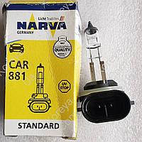 Лампа противотуманной фары Лачетти Narva H27W/2 881 PGJ13 12V 27W