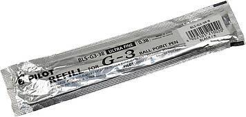 "Стрижень гел. ""Pilot"" №BLS-G3-38-B 0,7 мм для BLN-G3-38 чорн.(12)"