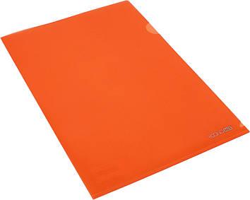 "Папка-куточок ""Economix"" №E31153-06 A4 щільн.,помаранчева(10)"