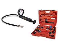 Прибор для проверки герметичности системы охлаждения VW, Audi, Volvo, Saab, Mercedes Benz, и TOPTUL JGAI1802