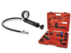 Прилад для перевірки герметичності системи охолодження VW, Audi, Volvo, Saab, Mercedes Benz, і TOPTUL JGAI1802