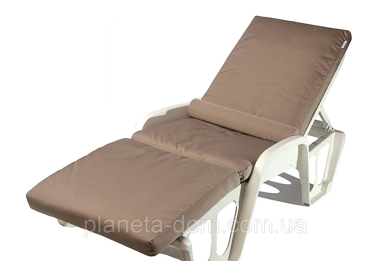Матрас для лежака с валиком Confort дралон 2739