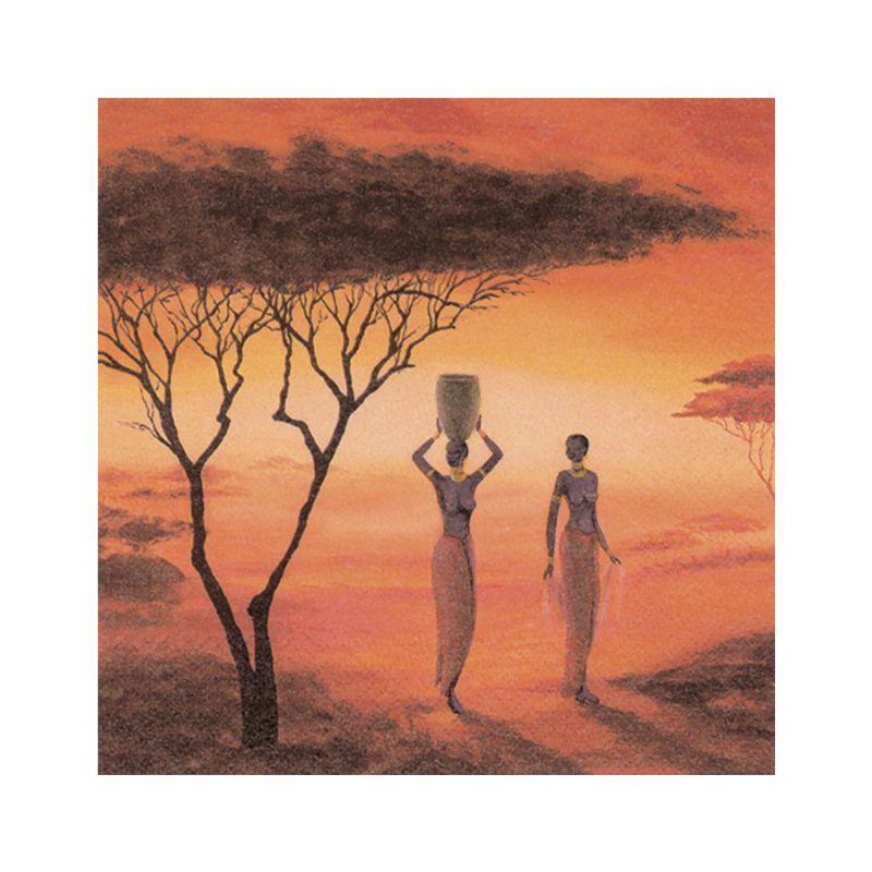 """Декупажні серветки """"Africa"""" 33х33см 17,5г/м2 (20шт) ti-flair №346089/2899"""