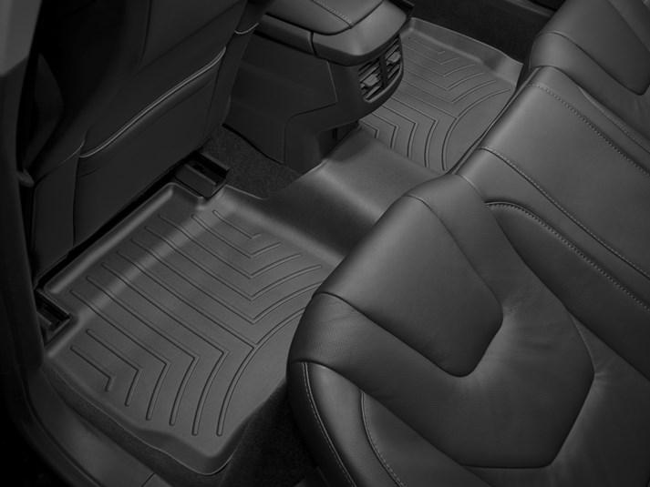 Ковры резиновые WeatherTech Ford Mondeo 13+ задние черные