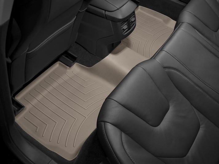 Ковры резиновые WeatherTech Ford Mondeo 13+ задние бежевые