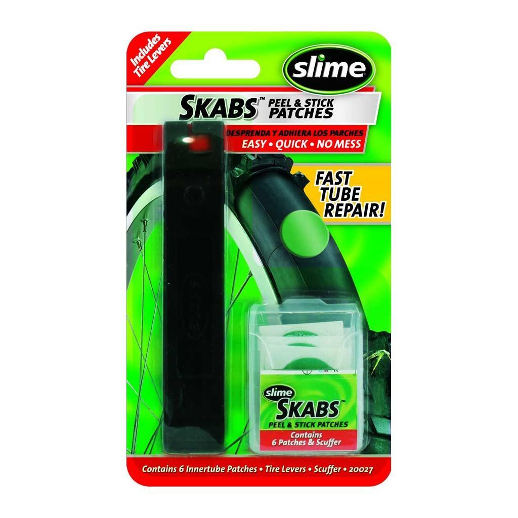 Ремкомплект для камери (6 шт) з бортировками, Slime (ST)