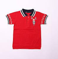 Детская футболка поло для мальчика,возраст 1,2,3,4,5 лет, рост 86,92,98,104,110 см.