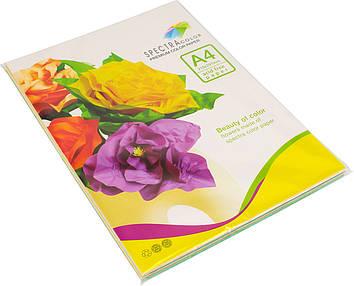 """Папір кольор. А4 80г/м паст. 5х20 Spectra Color-Rainbow Pack Light IT 82""""Т""""(100шт)(22)(25)"""