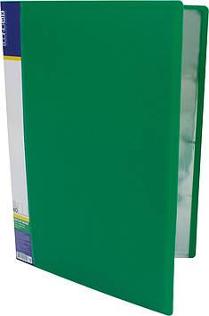 """Папка Economix"""" №E30604-04 A4 з 40ф. зелена(4)(24)"""