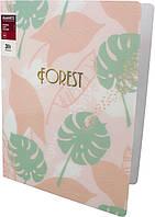 "Папка-швидкозш. ""Axent"" №1305-10 A4 Forest рожева"