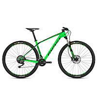 "Велосипед Ghost Lector 2.9 29"" Deore, карбон, рама M,  зелено-черный, 2018 (ST)"