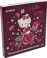 "Пластилін воск. 12 кольор. 240гр ""Kite"" №HK19-1086 Hello Kitty(48)"
