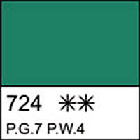 "Гуашева фарба ""Сонет"" смарагдова зелен. 100мл №351933 ЗХК"