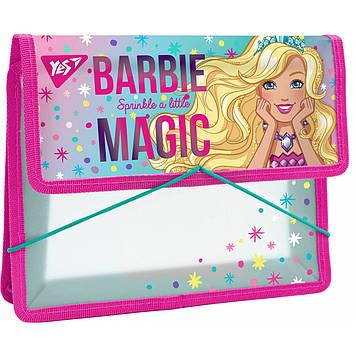 """Папка для зош. B5 """"Yes"""" №491561 """"Barbie"""" на рез. пласт.(12)"""