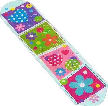 """Закладка пласт. """"Yes"""" №706299 2D Flower mix"""