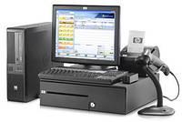 Сенсорний POS термінал HP Elo для кафе, ресторанів, магазинів ГАРАНТІЯ (сенсорный POS-терминал Б/У)