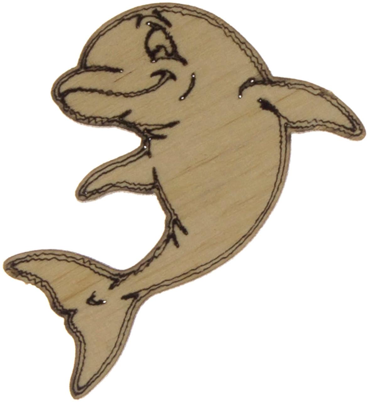 Дельфін 4см фанера