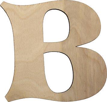 "Літера англ. 10см ""B"" фанера(5)"