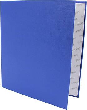 "Папка ""Norma"" №5307 А4/50мм на 2кільця d-35мм (D) PVC картон (синя)(24)"