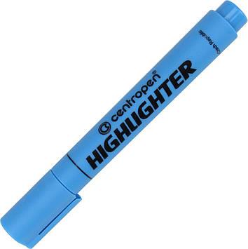 "Текстмаркер ""Centropen"" №8852 Fax кос. 1-4,6мм синій(10)"