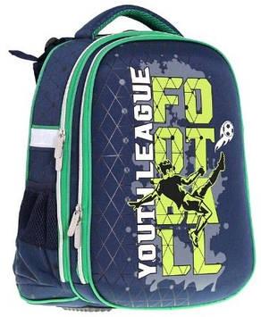 """Ранець каркасний """"School Case"""" Football PL,2від.,39x28x21см №9910/Class/(4)"""