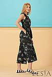 Стильный женский летний комбинезон в тропический принт Lesya  РОНИН, фото 2