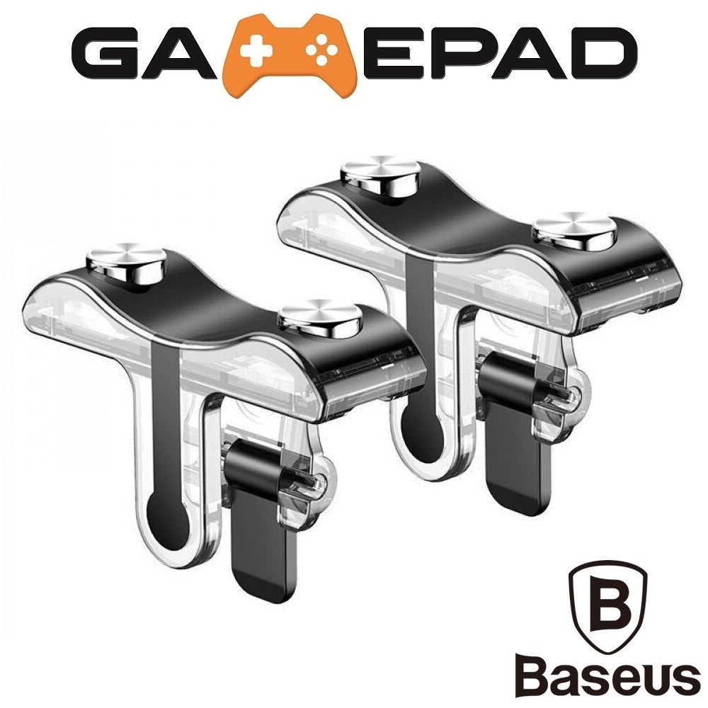 Триггеры Baseus G9 для PUBG Mobile / Геймпад для смартфона, Тригеры для телефона, ПУБГ, ПАБГ Джойстик, Трігіри