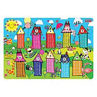 """Підкладка для столу дит. """"1В"""" №491644 Rachel Houses Таблиця множення"""
