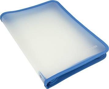 """Папка """"Economix"""" №E31644-11 A4 пласт. на блиск. (блакитна)(30)"""