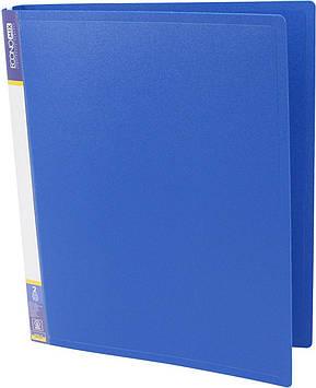 "Папка Economix"" №E30701-02 A4 на 2кільця d-25мм (O) (синя)(1)(10)"